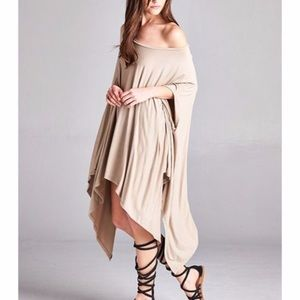 Tops - 💫New Contemporary Asymmetrical Poncho Tunic💫